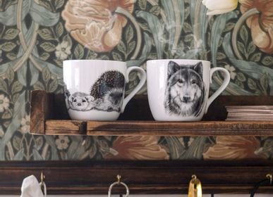 Mugs - Fine bone china mug - CHARLOTTE NICOLIN
