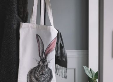 Bags and totes - Textile Tote Bag & Zip Bags - CHARLOTTE NICOLIN