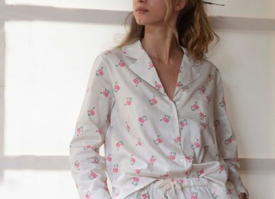 "Homewear - Pyjama set ""Jeannette"" - LALIDE A PARIS"