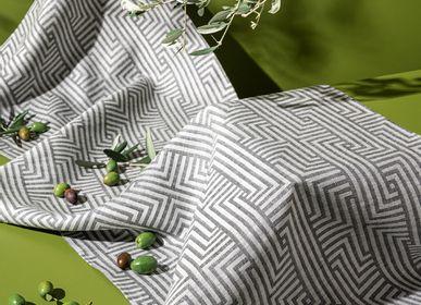 Linge de table textile - MEANDER - FORTSCHRITT BERLIN / HOFFMANN LEINENWEBEREI
