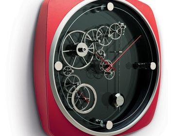 Clocks - INDIANAPOLIS RED FIRE CLOCK - MECCANICHE OROLOGI MILANO