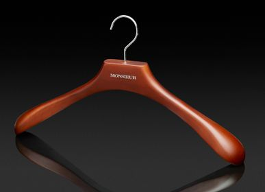 Customizable objects - Custom Wooden Hangers - Elegance Collection - AUTHENTIQUES PARIS