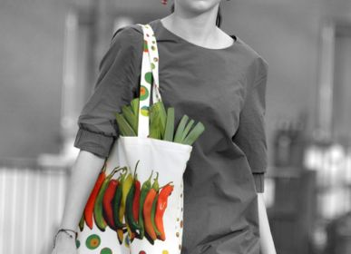 Bags and totes - Pimentos Graphic tote bag - MARON BOUILLIE