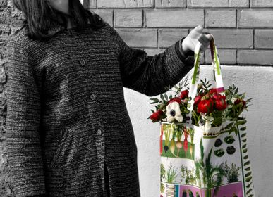 Homeweartextile - Tote Bag Jardin potager - MARON BOUILLIE