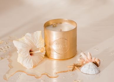 Objets personnalisables - Bougie message secret parfumée à la Monoï - MAISON SHIIBA - MESSAGE CANDLE