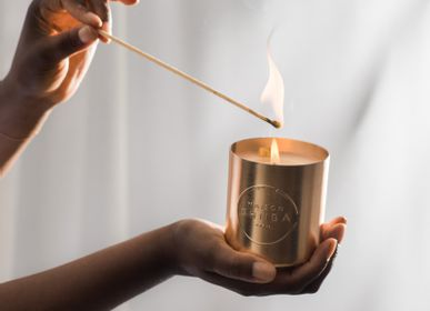 Gifts - Mantra collection - MAISON SHIIBA - MESSAGE CANDLE