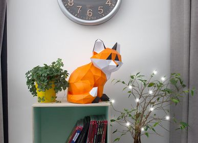Decorative objects - Decorative objects - Trophy little fox seated - AGENT PAPER