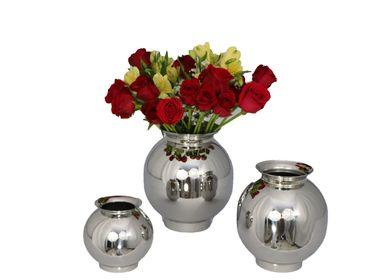 Vases - Vase sphérique - ORFÈVRERIE ROYALE