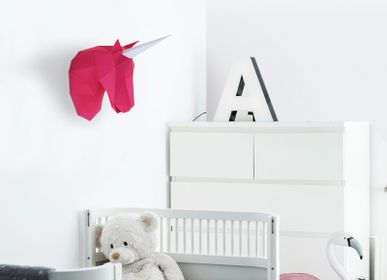 Other wall decoration - Paper Decoration - Little Unicorn Trophy - AGENT PAPER