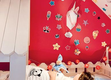 "Other wall decoration - Paper Decoration - ""Easy Peasy"" Unicorn Trophy - AGENT PAPER"
