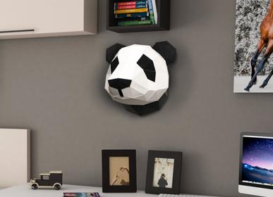 Autres décorations murales - Décoration en papier - Trophée Panda - AGENT PAPER