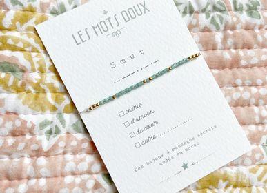Bijoux - Bracelet Code Morse : Soeur à cocher - LES MOTS DOUX