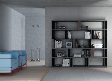 Bookshelves - BRERA Bookcase - EMMEBI HOME ITALIAN STYLE