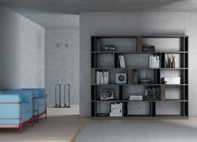Bibliothèques - BRERA Bookcase - EMMEBI HOME ITALIAN STYLE