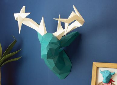 Autres décorations murales - Décoration en papier - Trophée tête de cerf  - AGENT PAPER