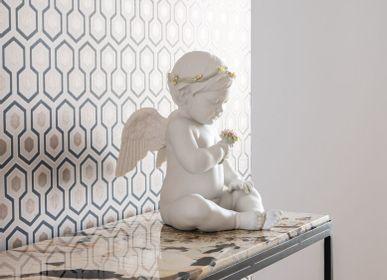 Sculptures, statuettes and miniatures - Celestial Angel - Lladró Handmade Heritage Porcelain Cherub  - LLADRÓ