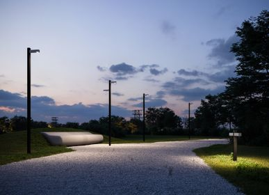 Outdoor floor lamps - WALKING - ARTEMIDE
