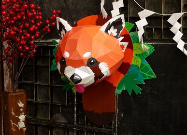 Decorative objects - Paper Decoration - Red Panda Trophy - AGENT PAPER