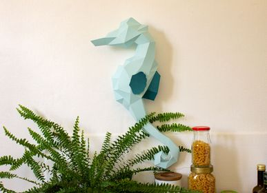 Other wall decoration - Paper Decoration - Seahorse Trophy - AGENT PAPER