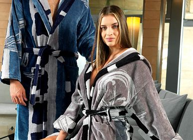 Bath towels - CARRARA FALL WINTER 21 COLLECTION TOWELS AND BATHROBES  - CARRARA