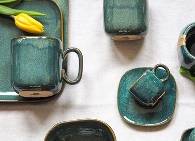 Mugs - Mug Emerald & Lavender - TRANQUILLO