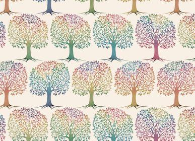 """Stationery - Decorative paper """"Albero della vita"""" - TASSOTTI - ITALY"""