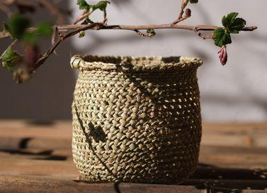 Decorative objects - Open basket, Iringa, Tanzania - AS'ART A SENSE OF CRAFTS