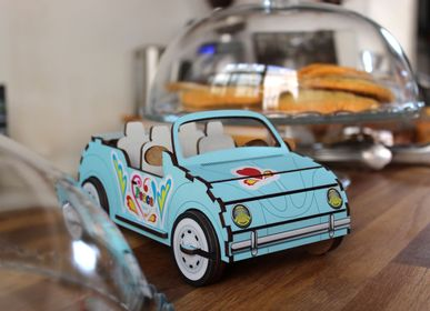 Decorative objects - Wooden Decor - Convertible and Military Car - AGENT PAPER