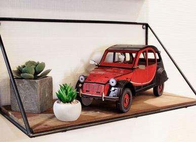 Decorative objects - Wooden Decoration - Car 2CV - AGENT PAPER