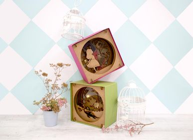 Decorative objects - Wooden Decoration - Night Light - AGENT PAPER