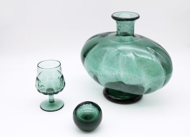 Vases - TSUGARU VIDRO RECYCLE GLASS VASE (L) - HOKUYO GLASS