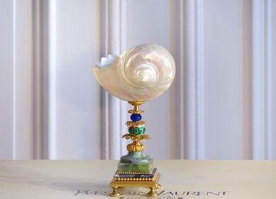 Decorative objects - marmoratus shell, muranoglass pearl - DUPONT BERLIN