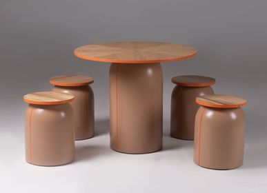 Dining Tables - Sole Dining Table and Stools by Stonesets - KINDRED DESIGN COLLECTIVE 01