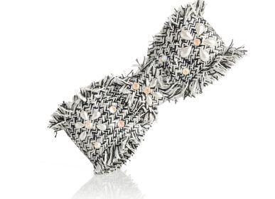 Hair accessories - Tweed bow barrette Camila - VALÉRIE VALENTINE