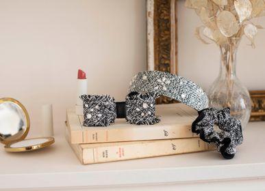 Hair accessories - Tweed hairband Camila - VALÉRIE VALENTINE