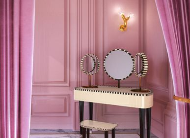Other tables - Woman in Paris Dressing Table - SCARLET SPLENDOUR