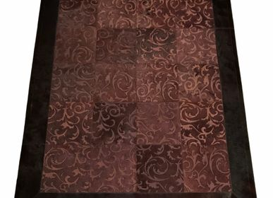 Contemporary carpets - Genuine cowhide dyed rug and lazer - TERGUS