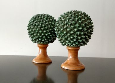 Decorative objects - BOSSO PINECONE ORNAMENT - AGATA TREASURES