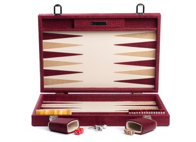 Leather goods - Backgammon large I Alligator effect leather - HECTOR SAXE PARIS DEPUIS 1978