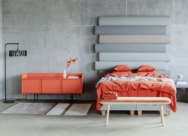 Lits - Ensemble de chambre ORANGE - LITHUANIAN DESIGN CLUSTER