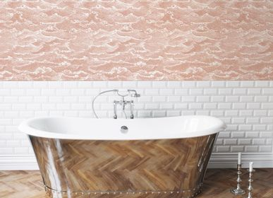 Other wall decoration - Wallpaper Waves Corail  - PAPERMINT