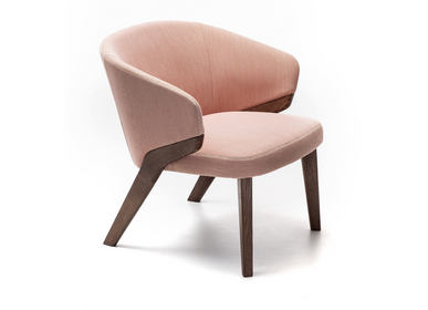 Lounge chairs for hospitalities & contracts - NORA ARMCHAIR - BROSS