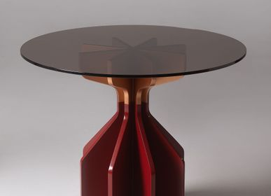 Dining Tables - STONESETS Fin Dining and Side Tables - KINDRED DESIGN COLLECTIVE FURNITURE