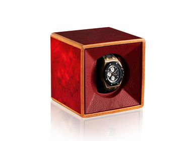 Boîtes de rangement  - Tempo Unico Rosso - Watch Winder - AGRESTI