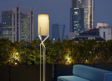 Outdoor floor lamps - Aura - SLIDE