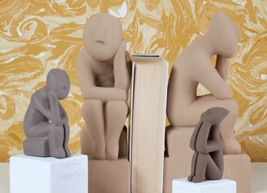 Sculptures, statuettes and miniatures - Cycladic Thinkers statues - SOPHIA ENJOY THINKING