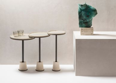Autres tables  - SORRENTO TABLE D'APPOINT EN MARBRE - GIOBAGNARA