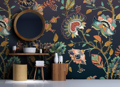 Wallpaper - BATIK Wallpaper - LGD01 DECOR MURAL SUR MESURE