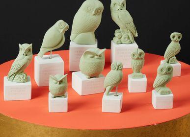 Sculptures, statuettes et miniatures - Statues hiboux - SOPHIA ENJOY THINKING