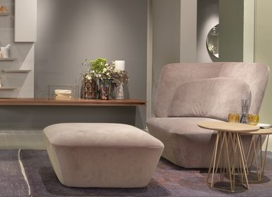 Lounge chairs for hospitalities & contracts - SOHO seating collection - EMMEBI HOME ITALIAN STYLE